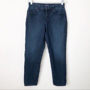 NYDJ Sheri Slim Jeans Lift Tuck Technology Size 8